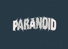 X__X • 死 者 の 顔 •: Photo #paranoid #typography