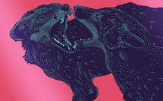"""FOXLEY - """"Nueva Generación"""", CD & Branding. - Frank franciscobaudizzone.com #foxley #nueva genereacion #cd #art #id #illustration"""
