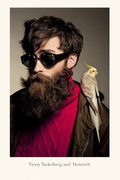 bangbangdot.com | Isson- School of Bauhaus 1934 #beard #photography #bird