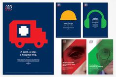 British Safety Council campaign imagery