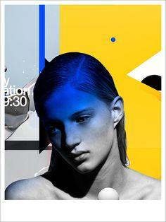 illustration by Benjamin Savignac #portrait #abstract #colors #contemporary #modern #illustrations #graphic #savignac