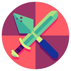 We come from the land of the ice and snow&An icon set for Thomas Cook Magazine, illustrating their top 5 Viking themed attractions. Fun stuf #icon #illustration #geometric