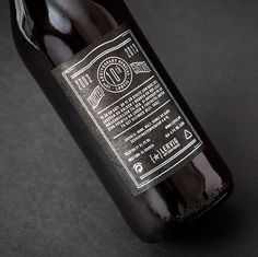 Lervig 10th Anniversary #packaging #beer #label #bottle