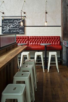 Jamie-s-Italian-in-Westfield, Stratford-City-Blacksheep-Jamie-Oliver-photo-Gareth-Gardner-6-Yatzer #interior #brick #raw #chairs #design #restaurant #industrial #walls #metal