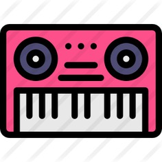 See more icon inspiration related to electric keyboard, music and multimedia, electric piano, music instruments, music instrument, keyboards, musical instrument, entertainment, piano, keyboard and music on Flaticon.
