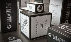 Design Work Life » Letterpress Packaging via Prägedruck #typography #branding