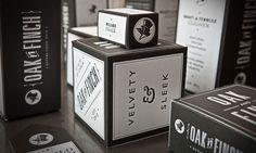 Design Work Life » Letterpress Packaging via Prägedruck #branding #typography