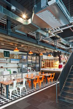 Jamie-s-Italian-in-Westfield, Stratford-City-Blacksheep-Jamie-Oliver-photo-Gareth-Gardner-Yatzer-8 #interior #design #restaurant