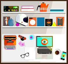 My Desk by Jamie Cullen — Agent Pekka
