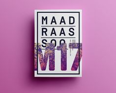 Maad Raas Soo M17 Poster design #design #graphic #poster #typography