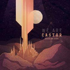 """We Are Castor – """"Invade & Disco"""" Album Cover #cover #illustration #design #castor"""