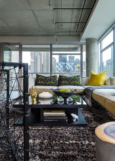 Concrete Jungle Apartment