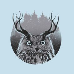 https://www.teepublic.com/user/barmalisiRTB #owl #design #illustration #nature #art #animals