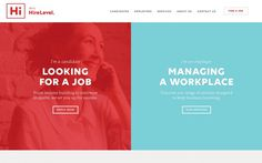 Hire job recruiting webdesign modern simple nice beautiful inspiration by mindsparklemag
