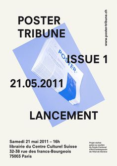 Artist: poster-tribune.ch #grid #design #poster