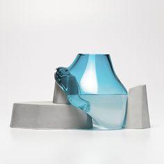 ▲ Ferréol Babin ▲ Falaises #ciav #concrete #france #noaille #design #meisenthal #glass #art #blow #esad #hand #falaises