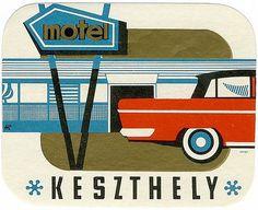Untitled | Flickr - Photo Sharing! #luggage #travel #vintage #label