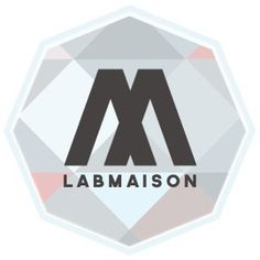 LAB Maison logo #branding #design #logo #type #typography