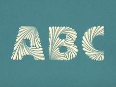 ABC Simon Ålander #typography