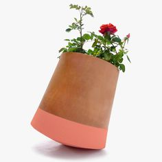 rolling flower pots by studio BAG disseny dance with the sun #planter