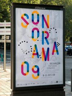 - sonorama : HELMO #design #graphic #sonorama #poster #helmo