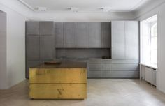 Gold & Gray Apartment