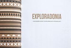 Exploradonia on the Behance Network #graphic #deisgn