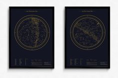 Celestial Maps on Behance #space #map #exploration #illustration #graphic design #celestial #universe #stars #constellation #circle