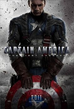 Captain America: The First Avenger: Extra Large Movie Poster Image - Internet Movie Poster Awards Gallery #movie #design #captain #poster #america