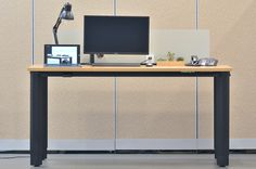 VIVISTAND: This desk's most impressive feature is its ability to move up and down electronically at your own comfort.