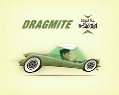 Fred-dragmite.jpg 800×640 pixels #illustration #car