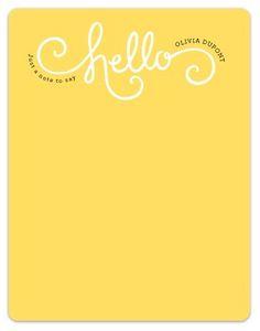 , #design #type #yellow #hello