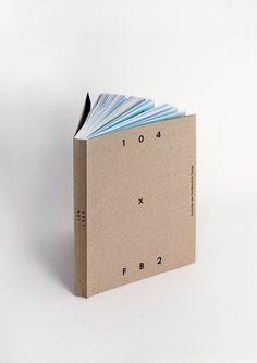 104 x FB2 on Behance #cover #book