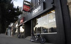 TRI CO - MOTORBIKE ACCESSORIES | SHOP FRONT #logo #branding #typography