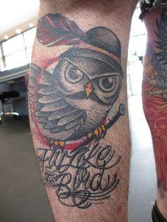 Idle Hand Tattoo