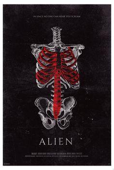 Two Brilliant 'Alien' Fan Posters Take Us Inside the Human Body