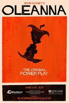 Blackbird Theater Company - Nashville, TN #design #poster