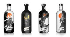 Norse inspired vodka packaging   Vargold Vodka