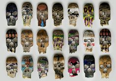 All sizes | Broken Decks / SKULLS | Flickr - Photo Sharing! #janz #skateboard #skull #beto