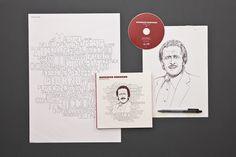 "Carosello Records — ""RITRATTO"" Box | Happycentro #packaging #cover #illustration #cd"