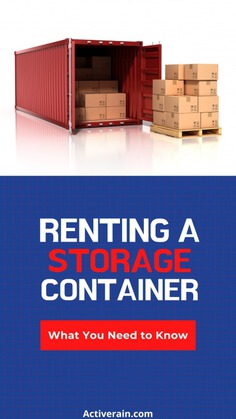What to Know About Renting a Storage Container