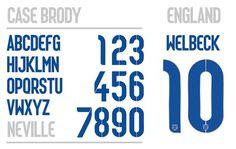 england_home #numbers #custom #typeface #england