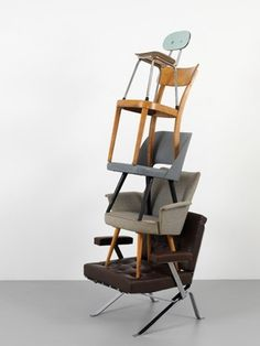 Paul Guinan #chair #stacking #art #weird #cool