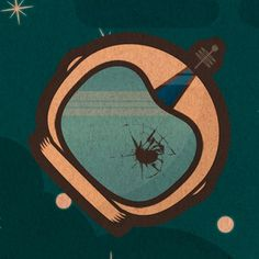 The Failed Astronaut « Joce GaMo Artwork #astronaut #helmet #star #space
