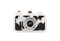 Lomography La Sardina Moonassi Edition Whisper #white #lomography #camera #graphic #black #illustration