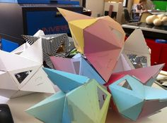SOFTlab - Carly Ayres #softlab #color #paper #geometric