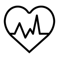 See more icon inspiration related to heart, cardiogram, electrocardiogram, heart rate, medical and pulse on Flaticon.