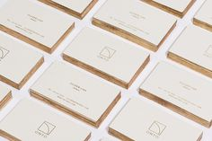 Onto Business Cards by High Tide NYC #branding #business #identity #gold #logo #cards