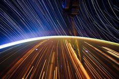 7 | Photographing Star Trails From Space, At 17,000 MPH | Co.Design: business + innovation + design #stars #photography #wow