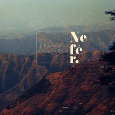 Grandes Montanas #design #photograph #concept #nature #mountains #typography